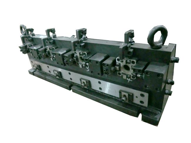 多工位连杆铣镗液压夹具